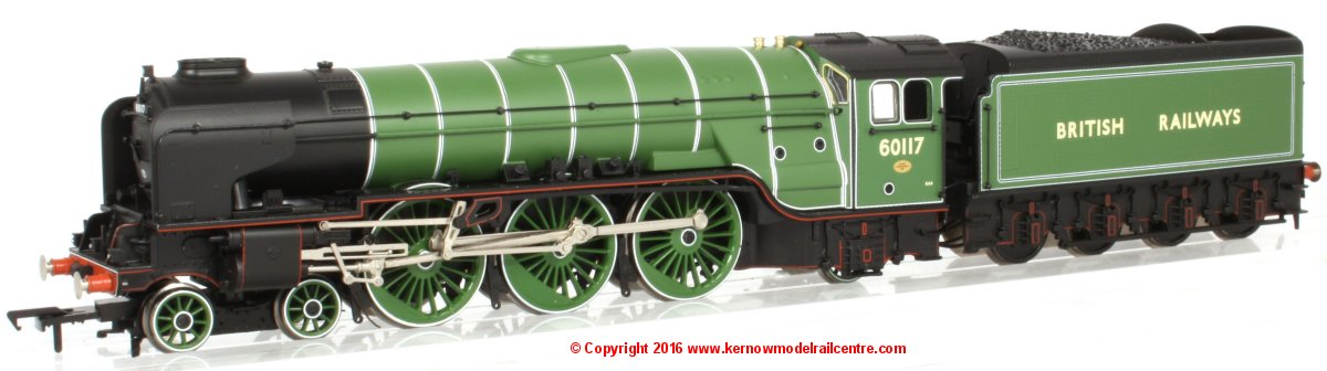 32-560 WSL Bachmann Class A1 Steam Locomotive number 60117 Image