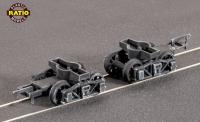125 Ratio Diamond Bogie Frames with spoked wheels