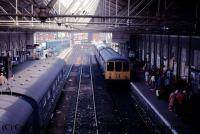 1453 Heljan Class 104 3 Car DMU Set in BR Blue livery with full yellow ends and headcode panel