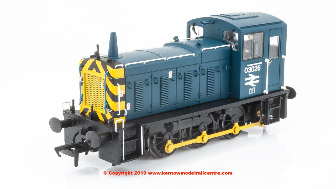 31-368DS Bachmann Class 03 Diesel Shunter number 03 026 in BR Blue livery - DCC Sound
