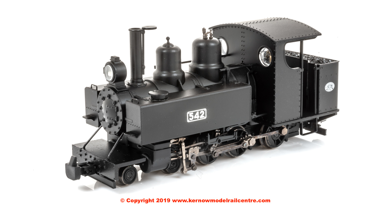 391-025A Bachmann Baldwin Class 10-12-D Steam Locomotive number 542 in WW1 ROD Black livery