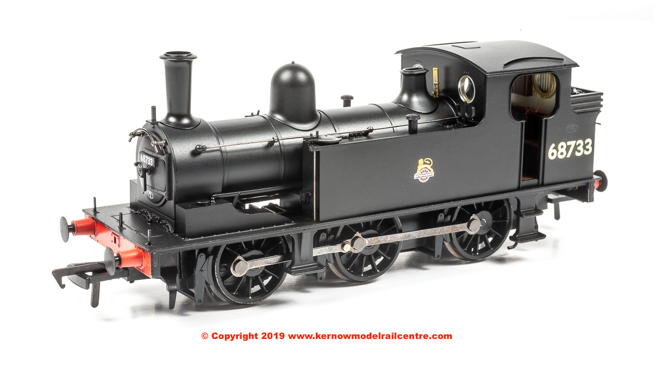 31-061 Bachmann LNER J72 Class Steam Locomotive number 68733 in BR Black livery with Early Emblem