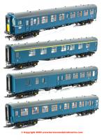 32-640Z Bachmann Class 491 4-TC Unit number 416 in BR Blue livery with small yellow warning panel