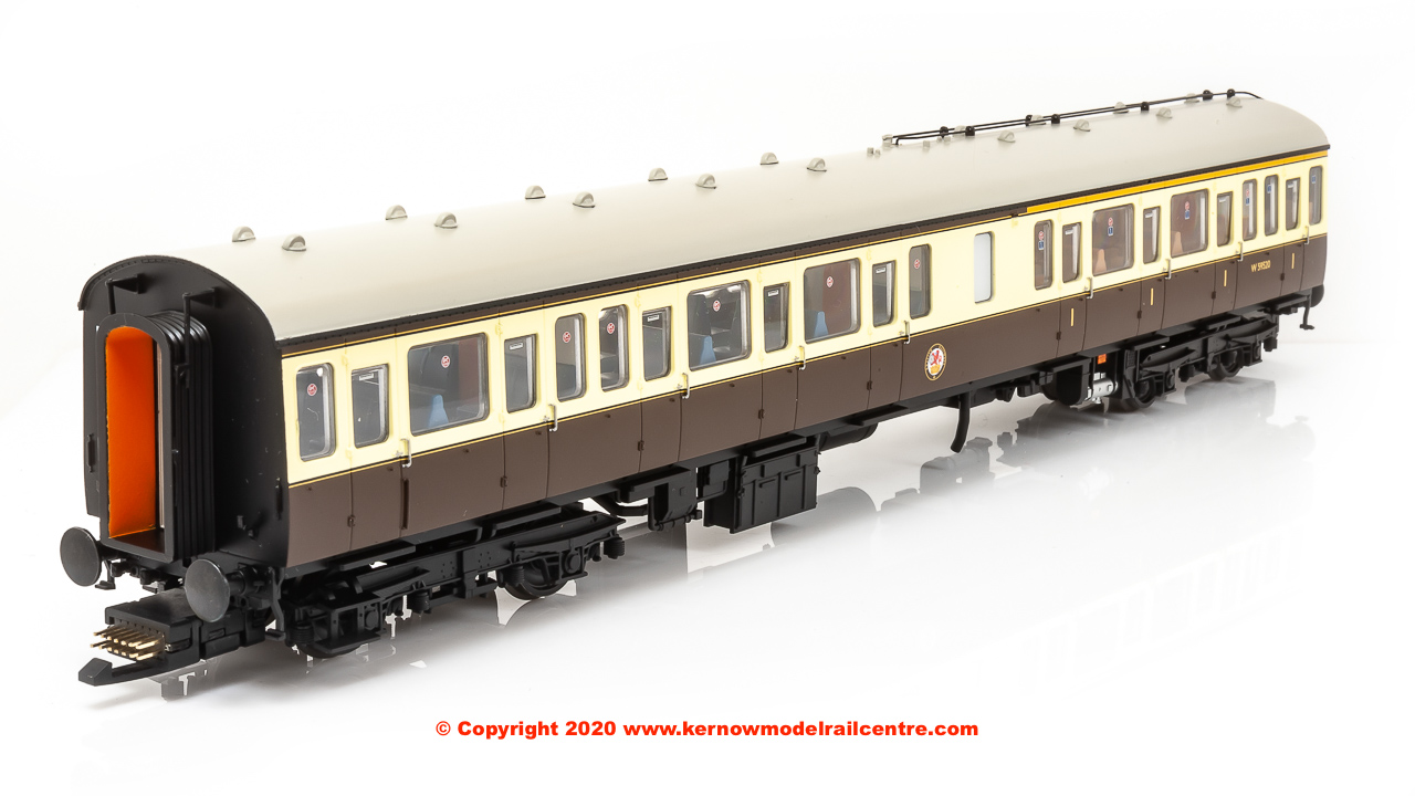 35-500Z Bachmann Class 117 3 Car DMU Set number B430 in GW 150 Chocolate & Cream livery