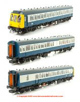 35-501 Bachmann Class 117 3 Car DMU Set in BR Blue and Grey livery