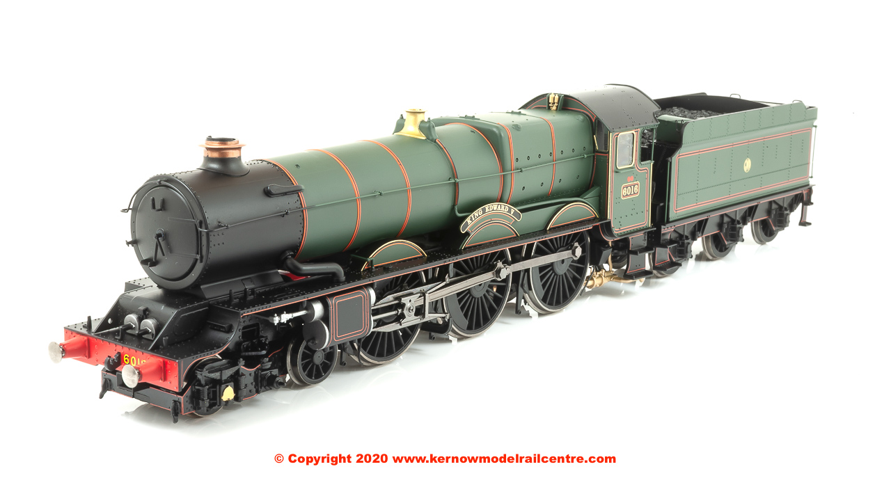 R3408 WSL Hornby 4-6-0 6000 King Class Steam Locomotive 6016 Image