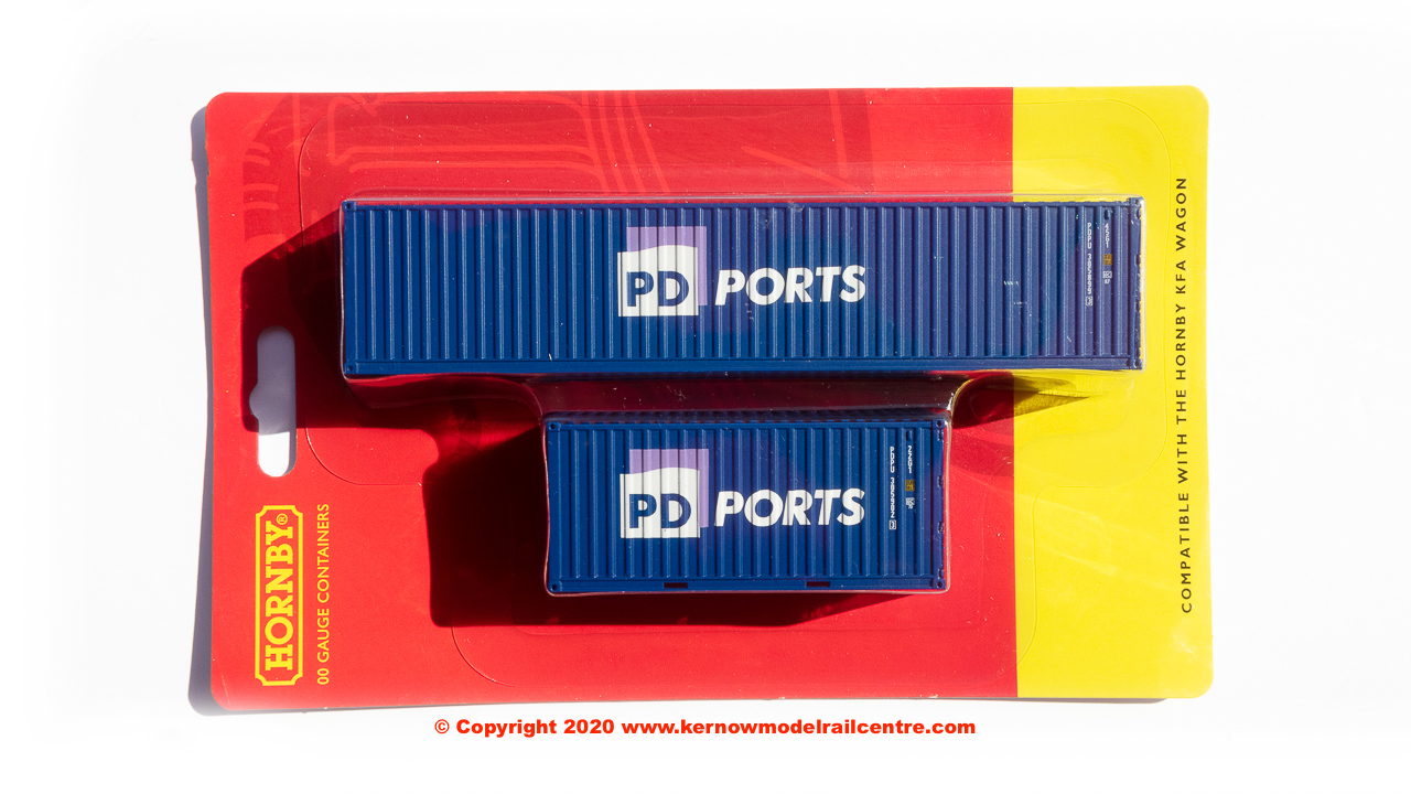 R6998 Hornby PD Ports, Container Pack, 1 x 40 and 1 x 20