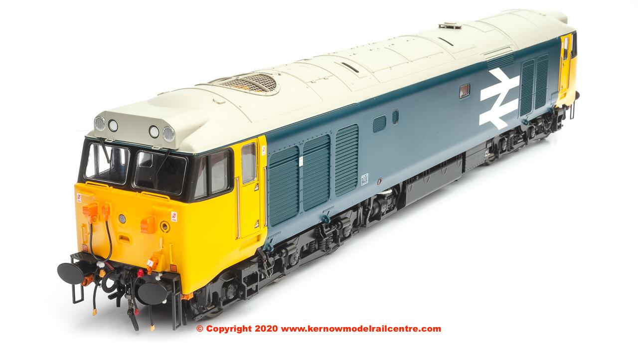 4021 Heljan Class 50 Diesel Locomotive in BR Blue large logo image