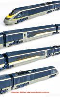 R3215 Hornby Class 373/1 Eurostar e300 4 Car Train Pack - Era 10