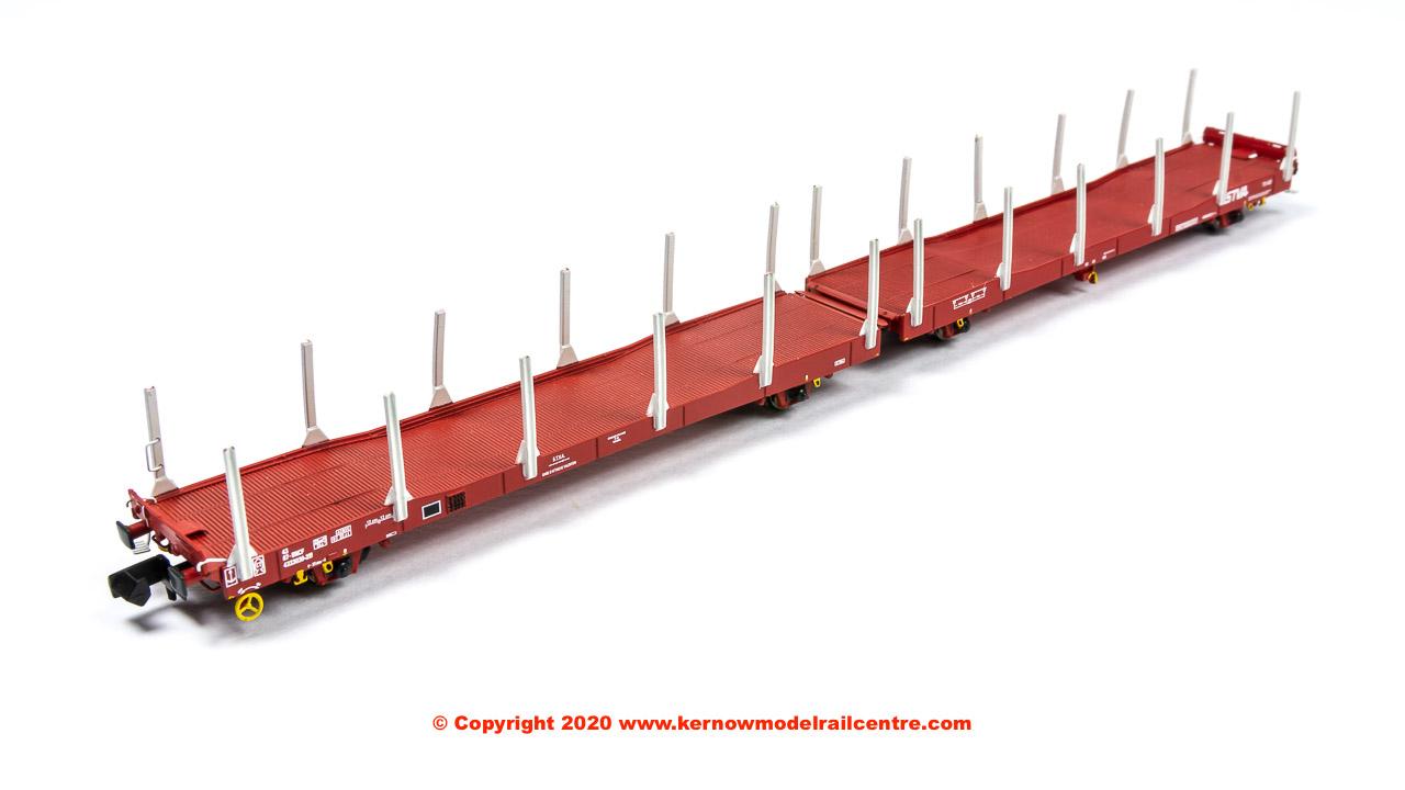 N-IPA-131A Revolution Trains IPA Single-deck Car Carrier Twin