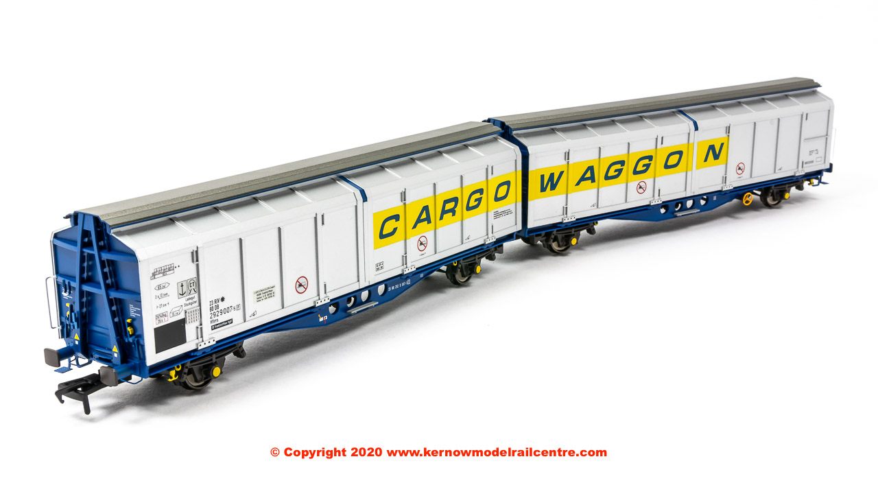 SB008G Revolution Trains IZA Cargowaggon Twin 2380 2929 007-5 Image