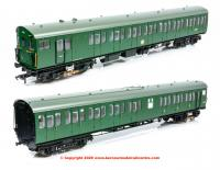 31-390 Bachmann Class 414 2-HAP EMU Set number 6061 in BR Green livery