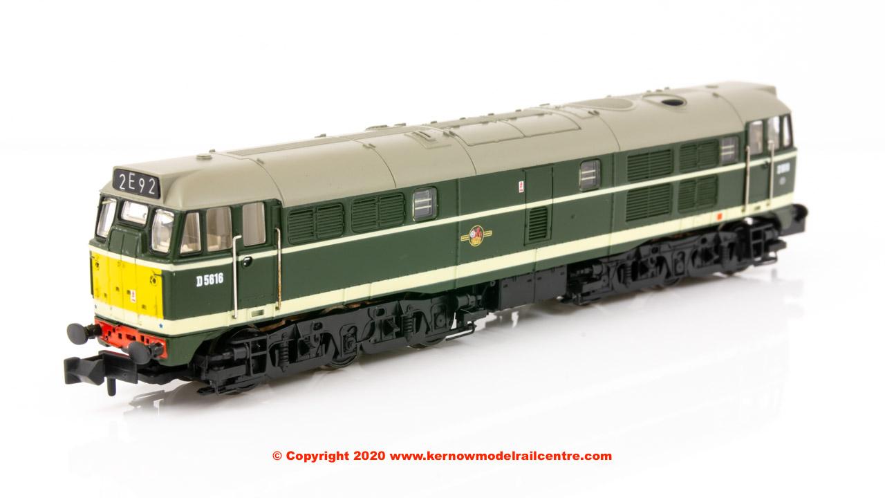 371-111A Graham Farish Class 31 Diesel Locomotive number D5616