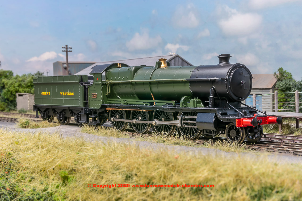 4781 Heljan 47xx Class Steam Locomotive number 4705 in GWR Green image