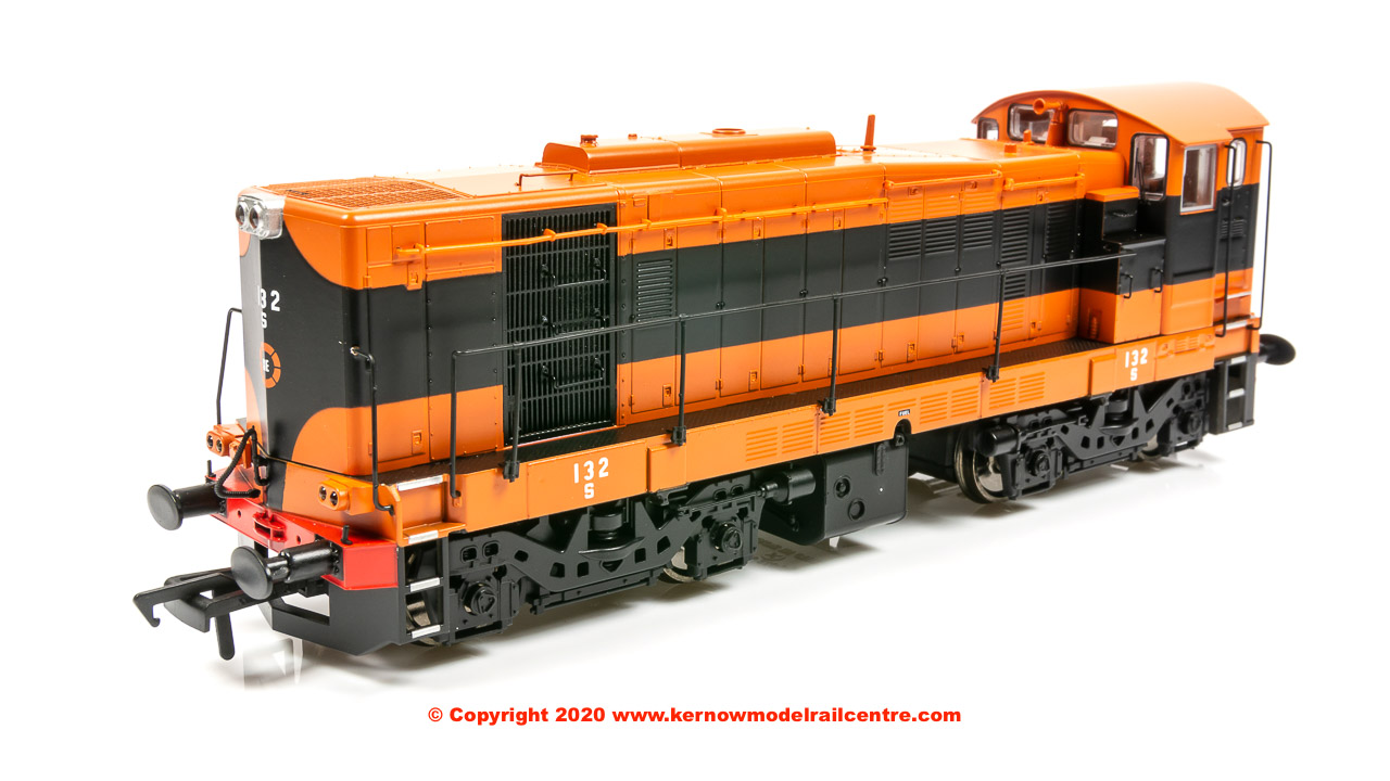 MM0132 Murphy Models Class 121 Diesel Locomotive number 132 in CIE 'Supertrain' livery
