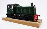 2051 Heljan Class 03 0-6-0 Diesel Locomotive Number D2011 in BR Green with Conical Exhaust