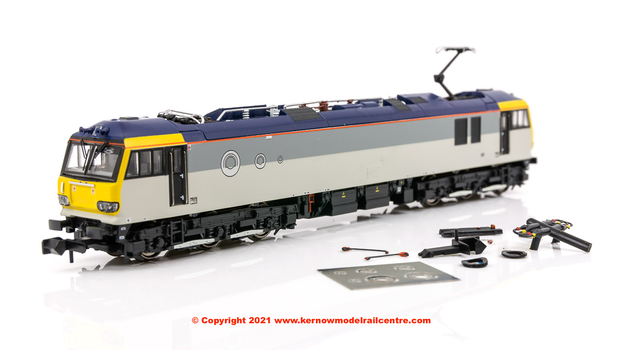 N920xx Revolution Trains Class 92 Electric Locomotive Un-Number In RFD Livery