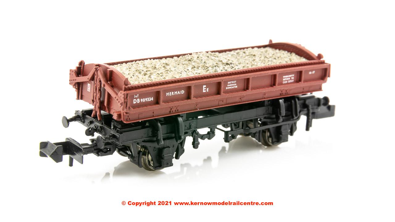 E87515 EFE Rail Mermaid 14 Ton Side Tipping Ballast Wagon