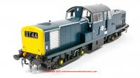 1752 Heljan Class 17 Diesel Loco in BR blue unnumbered with full yellow ends