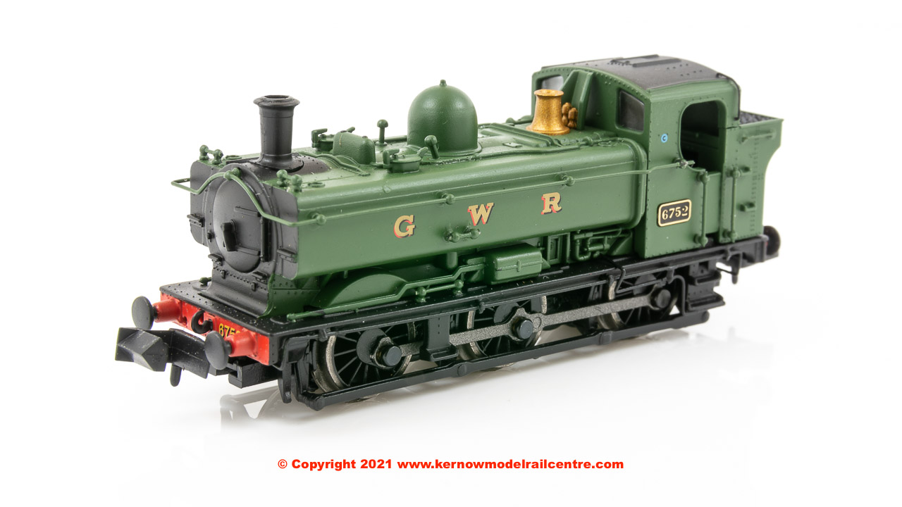 2S-007-022 Dapol 8750 Pannier Tank number 6752 in GWR Green image