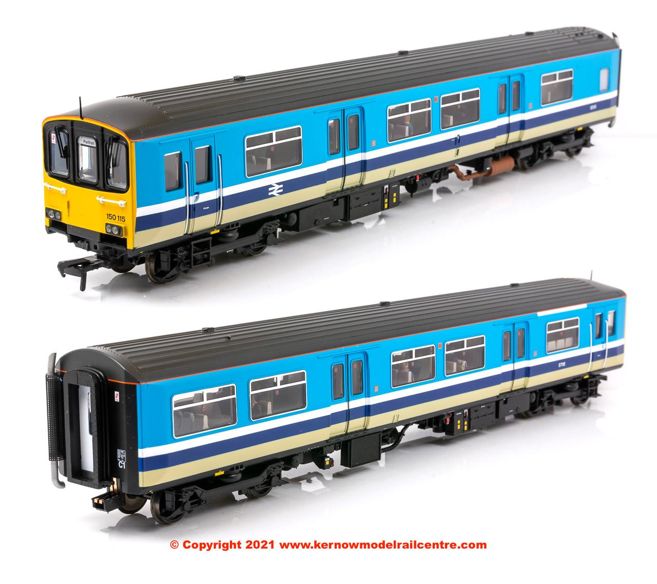 32-929 Bachmann Class 150/1 2 Car Sprinter DMU number 150 115 Image