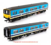 32-929 Bachmann Class 150/1 2 Car Sprinter DMU number 150 115 in BR Provincial (Original) livery