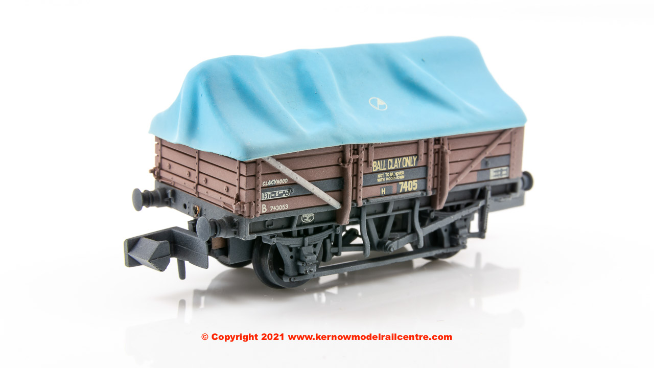377-476 Graham Farish China Clay Wagon BR Bauxite Image