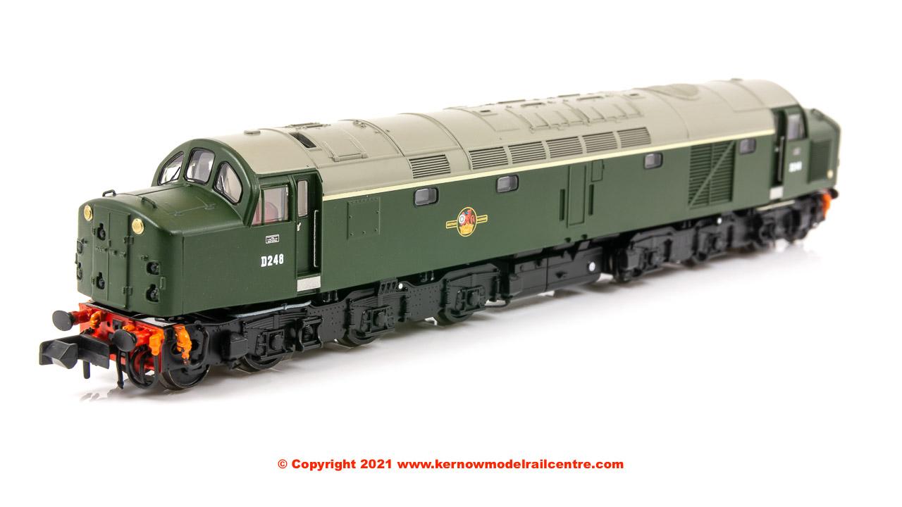 371-180A WSL Graham Farish Class 40 Diesel number D248 BR Green Image