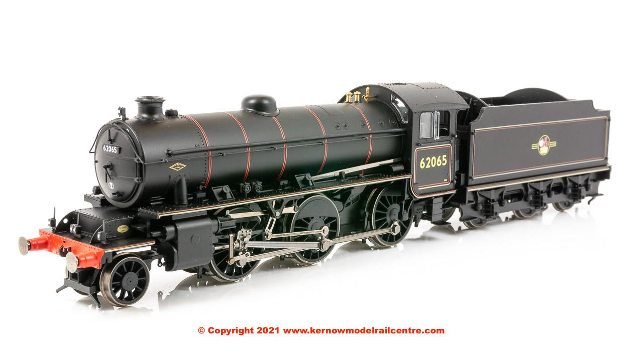 R3417 Hornby K1 Class Steam Locomotive number 62065 BR Black image