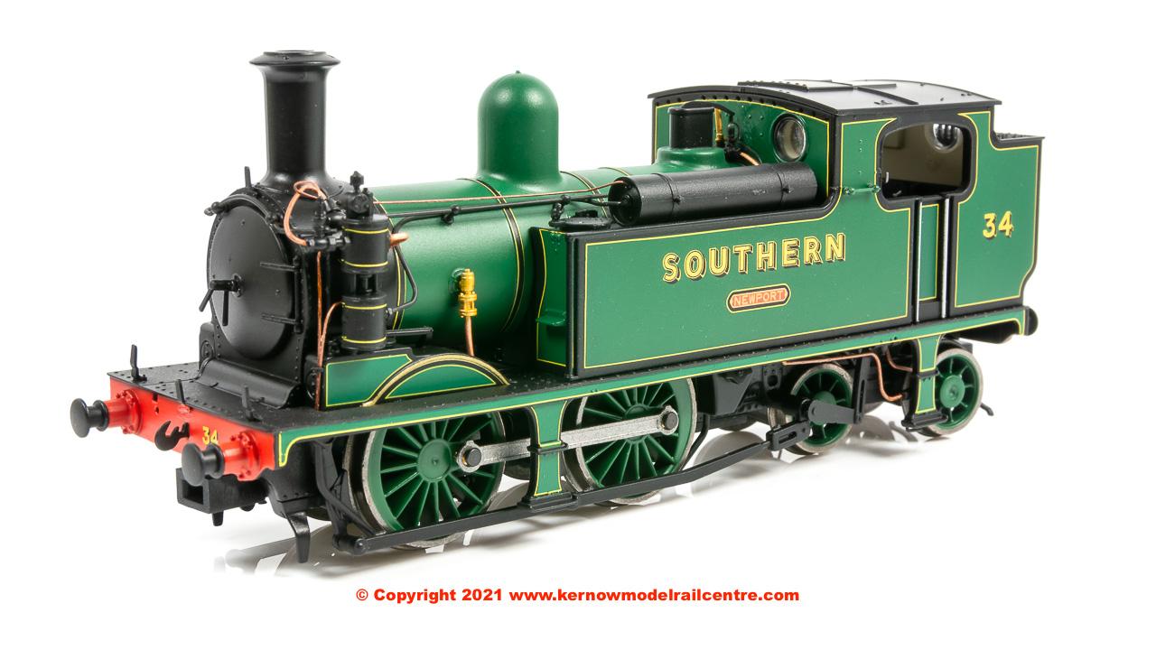 E85008 EFE Rail LSWR Adams O2 Steam Locomotive 34 Newport