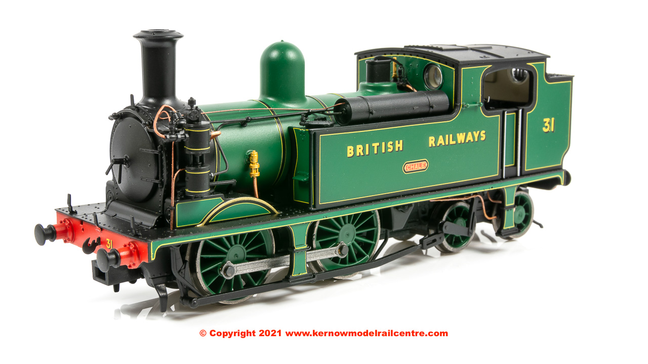 E85009 EFE Rail LSWR Adams O2 Steam Locomotive number 31 Chale