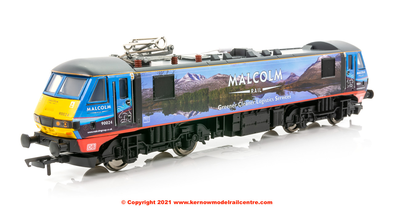 R3924 Hornby Class 90 Bo-Bo Electric Locomotive number 90 024 image