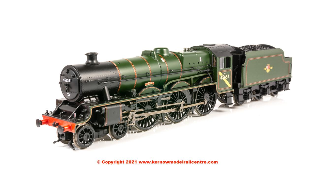 31-186A Bachmann LMS 5XP Jubilee Steam Locomotive 45654 Hood image
