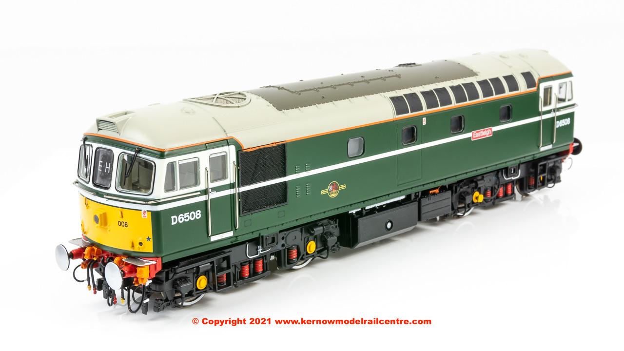 3462 Heljan Class 33/0 Diesel Locomotive number D6508 Eastleigh Image