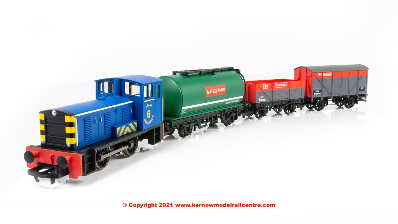 R30036 Hornby Railroad Bagnall Diesel Shunter Train Pack Image
