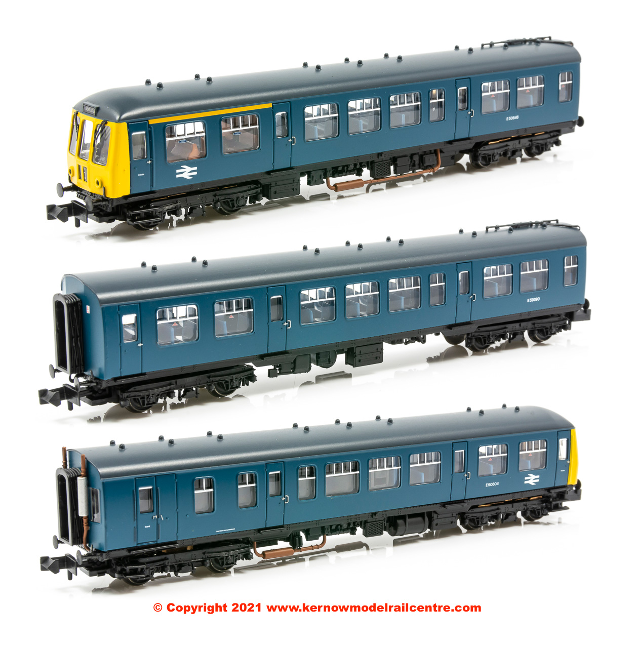 371-885A Graham Farish Class 108 3 Car DMU BR Blue Image
