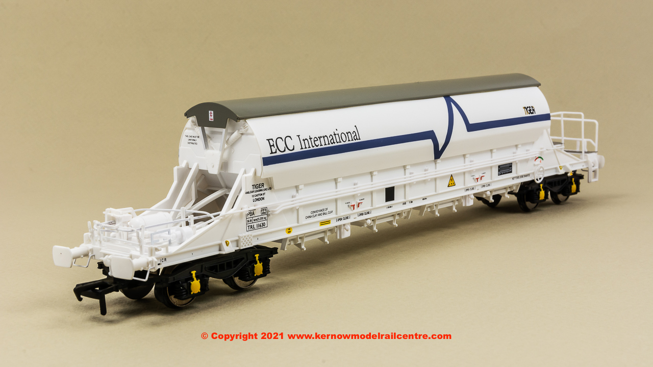 E87029 EFE Rail PBA TIGER China Clay Wagon number TRL 11630 Image
