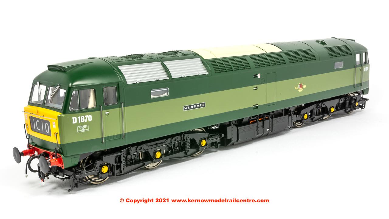 4853 Heljan Class 47 Diesel Locomotive number D1670 Mammoth Image