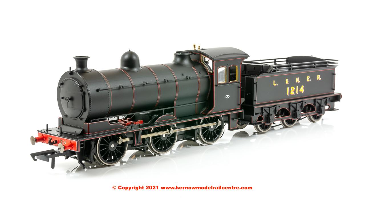 OR76J27004 Oxford Rail LNER J27 Steam Locomotive number 1214 image