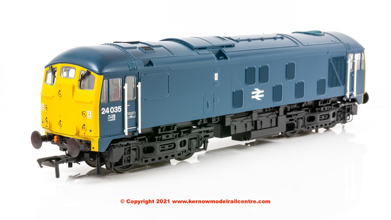 32-416 Bachmann Class 24/0 24035 Disc Headcode BR Blue Image