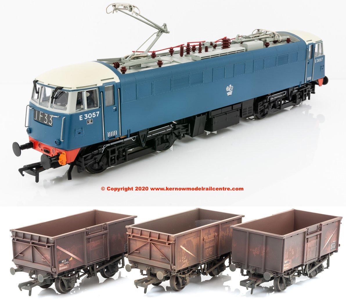 31-676APACK Bachmann Class 85 Electric Loco E3057 + 37-238Z image