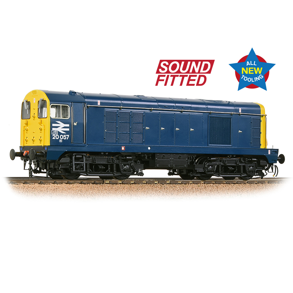 35-355SF Bachmann Class 20/0 20057 BR Blue (Sound Fitted)