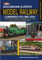 Catalogue - Bachmann Europe Model Railway Combined Volume 2021 - Item ref 36-2021