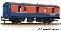 374-644 Graham Farish BR Mk1 CCT Covered Carriage Truck
