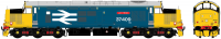 "ACC230837409DCC Accurascale Class 37/4 Diesel Locomotive number 37 409 named ""Lord Hinton"" in BR Large Logo Blue livery"