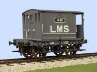 4032 Slaters MR 4 Wheel 10 ton Brake Van