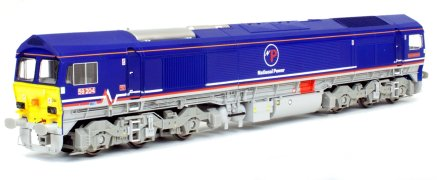 4D-005-003DM Dapol Class 59 Diesel Locomotive number 59 204 in National Power livery