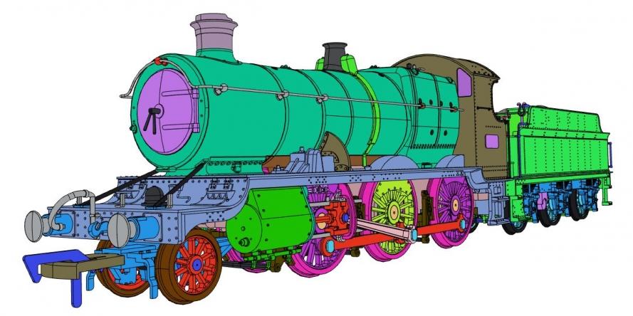 Dapol GWR Mogul Steam Locomotive number