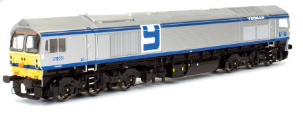 "4D-005-000 Dapol Class 59 Diesel Locomotive number 59 005 named ""Kenneth J Painter"" in Foster Yeoman livery"