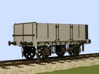 7055 Slaters 10 ton China Clay Wagon Gloucester 5 Plank Side & End Door Kit